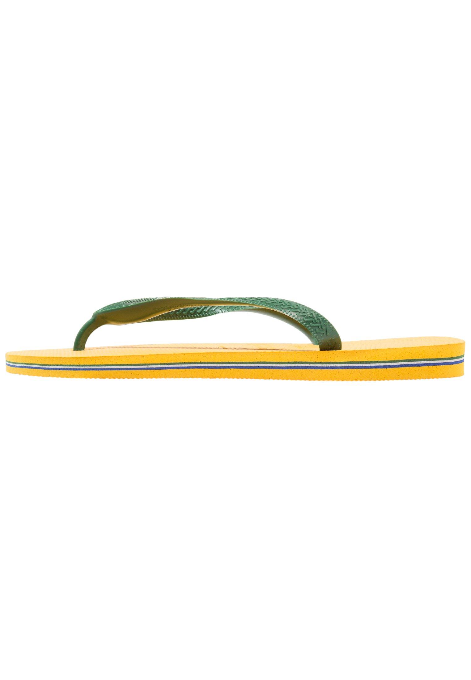 Havaianas BRASIL LOGO Badesko banana yellow Zalando.no