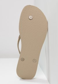 Havaianas - SLIM FIT - Pool shoes - sand grey/light gold - 6