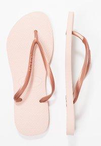 Havaianas - SLIM FIT - Pool shoes - ballet rose - 0