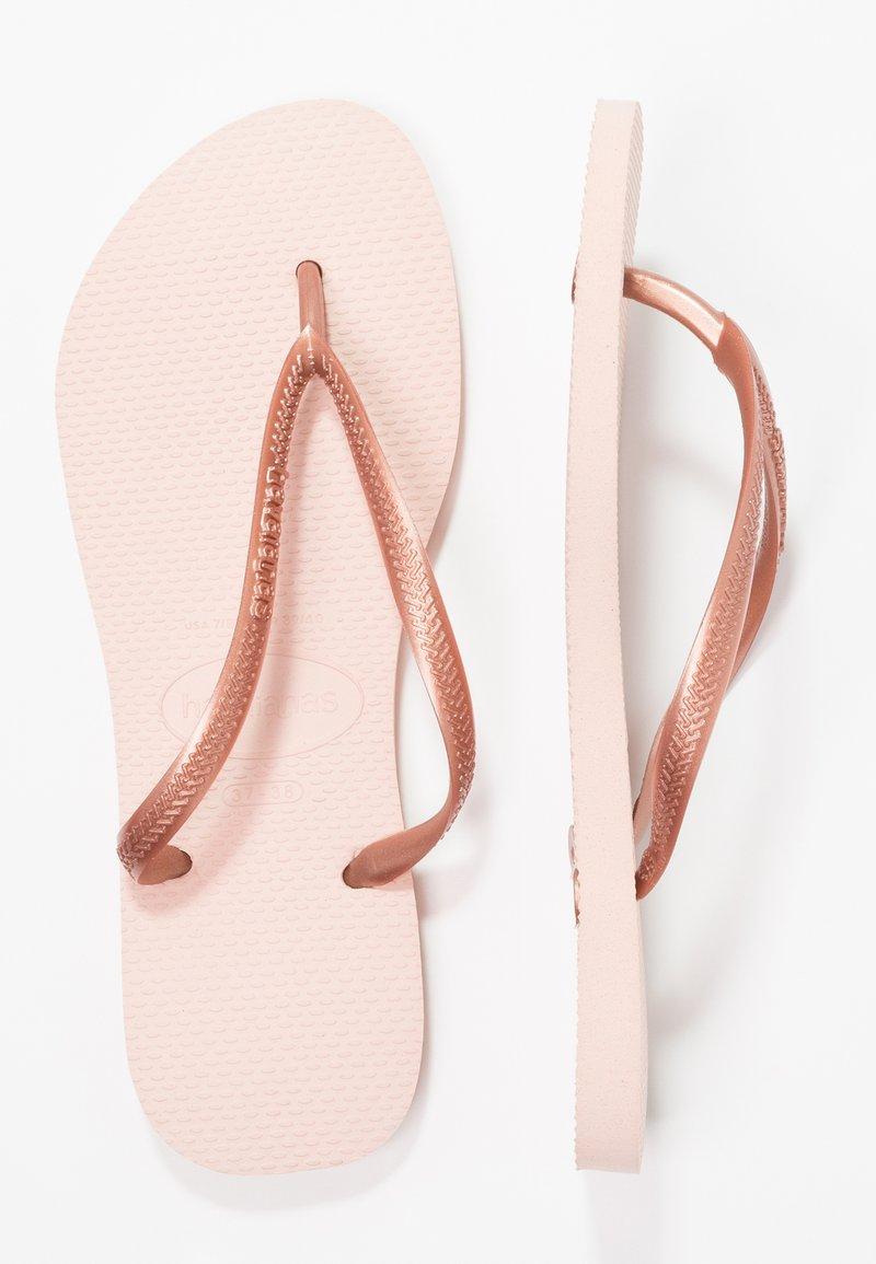 Havaianas - SLIM FIT - Pool shoes - ballet rose