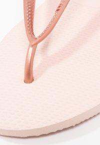 Havaianas - SLIM FIT - Pool shoes - ballet rose - 6