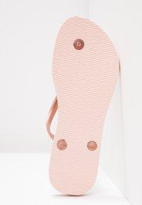 Havaianas - SLIM FIT - Pool shoes - ballet rose - 5