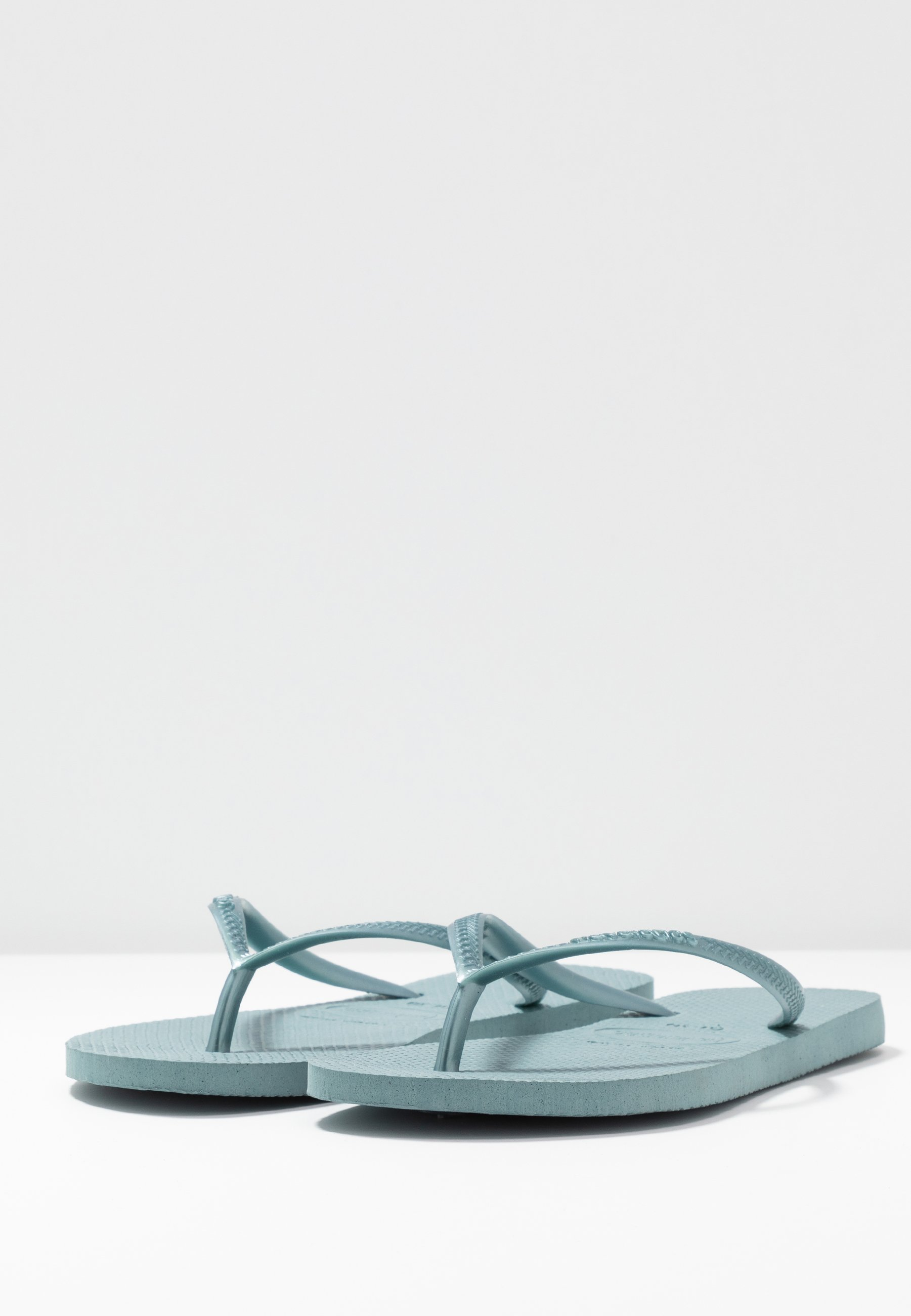 Havaianas SLIM FIT - Bade-Zehentrenner - silverblue 3TVA7a