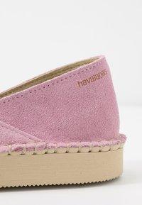 Havaianas - ORIGINE FLATFORM LOAFER - Loafers - rose - 2