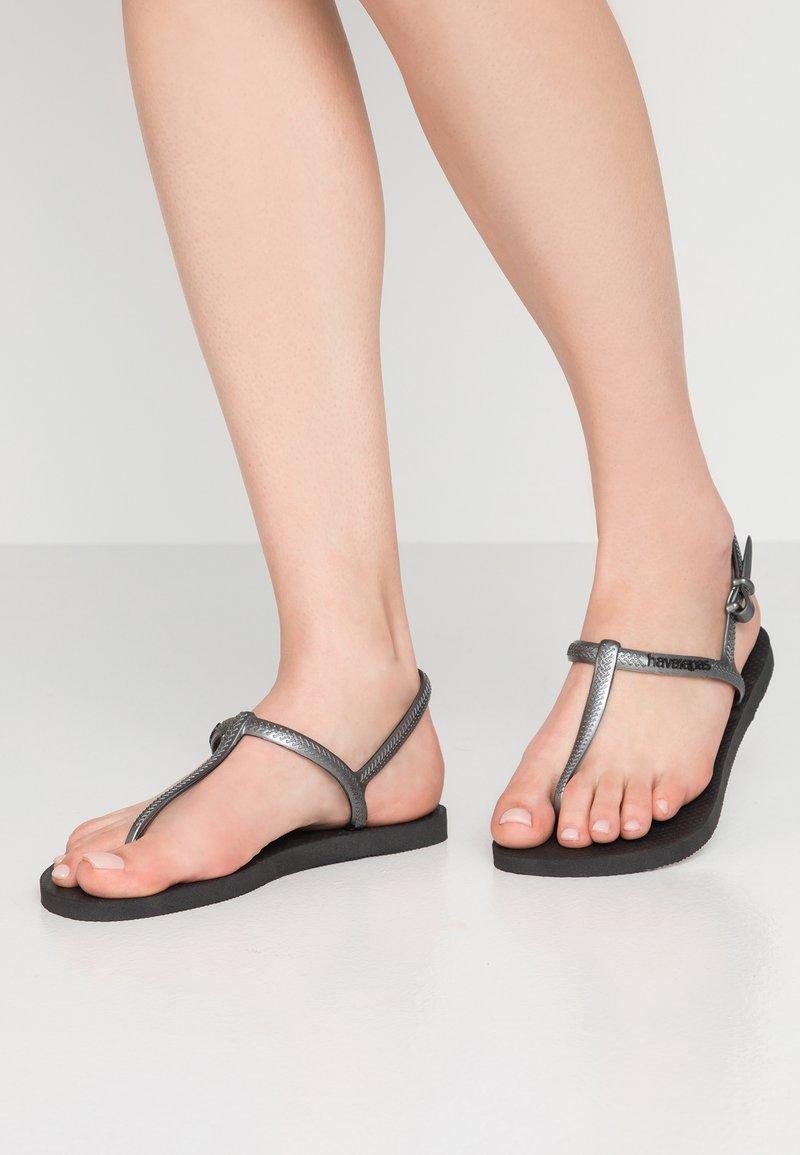 Havaianas - FREEDOM - Pool shoes - black