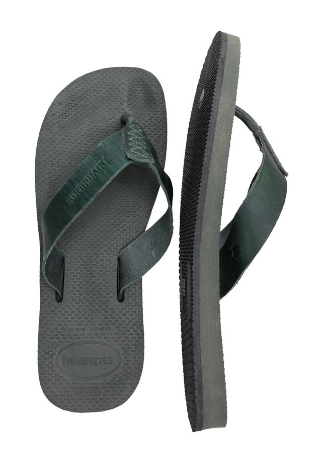 URBAN SPECIAL - Teenslippers - olive green
