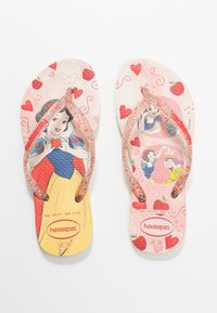 Havaianas - KIDS SLIM FIT PRINCESS - Klipklappere/ klip klapper - lemon yellow - 6