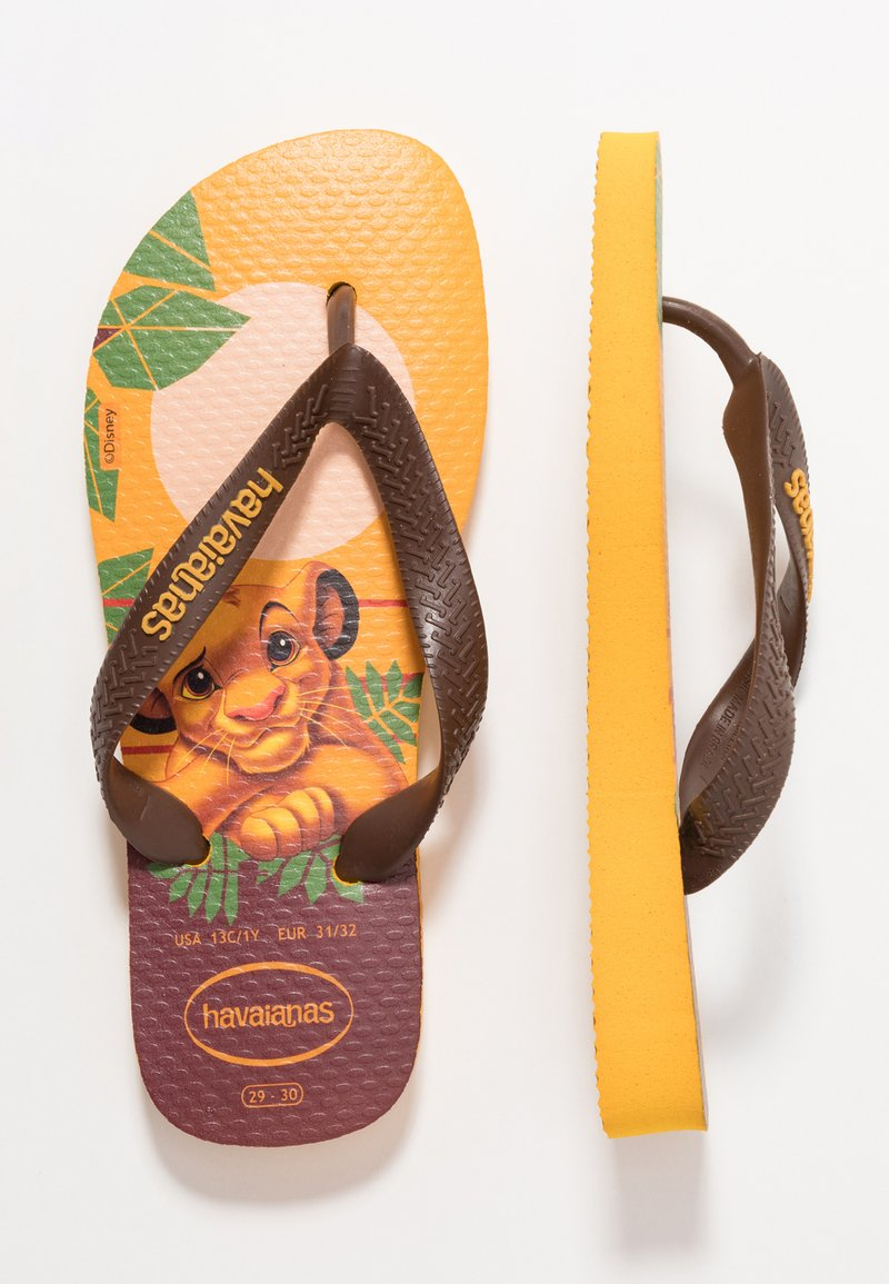 Havaianas - KIDS LION KING - Pool shoes - multicolor