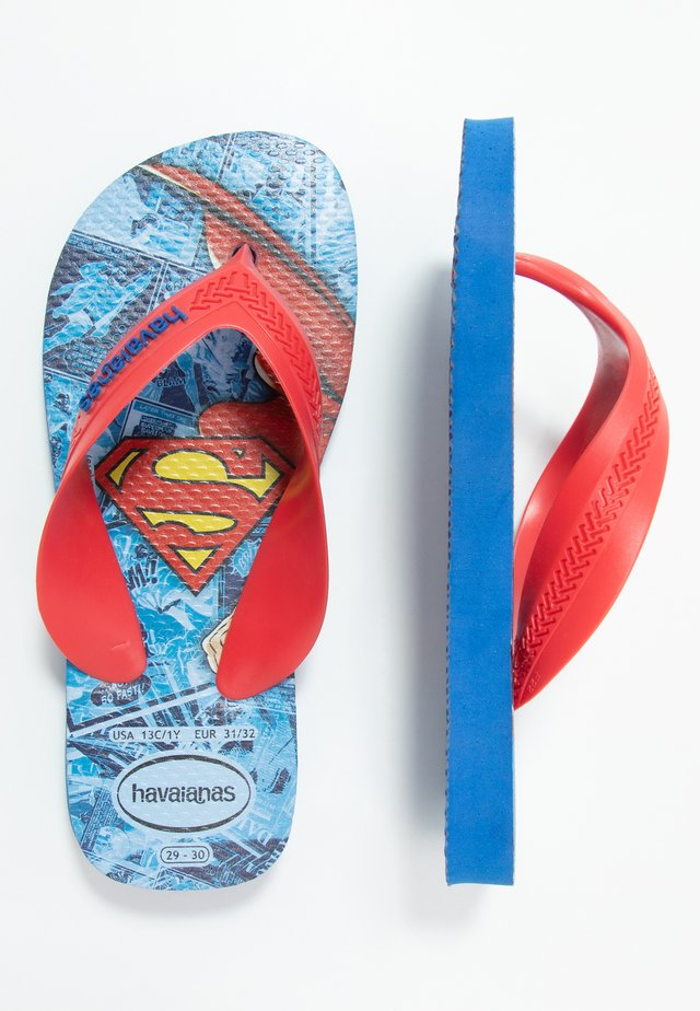 KIDS MAX HEROIS - Pool shoes - blue star