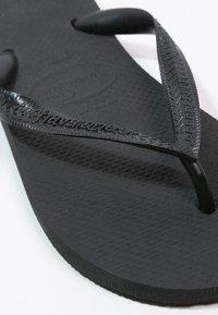 Havaianas - TOP - Klipklappere/ klip klapper - schwarz - 5