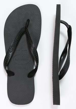 TOP - Teenslippers - schwarz