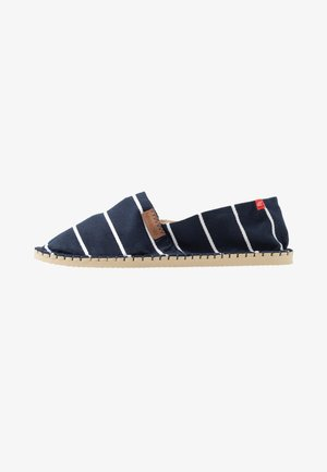 ORIGINE STRIPES - Espadrilles - navy blue