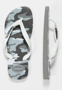 Havaianas - TOP CAMU - Boty do bazénu - steel grey/white - 0