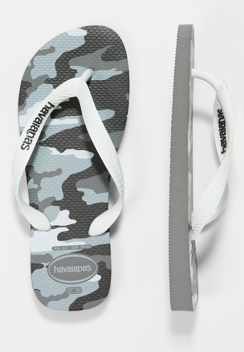 Havaianas - TOP CAMU - Boty do bazénu - steel grey/white