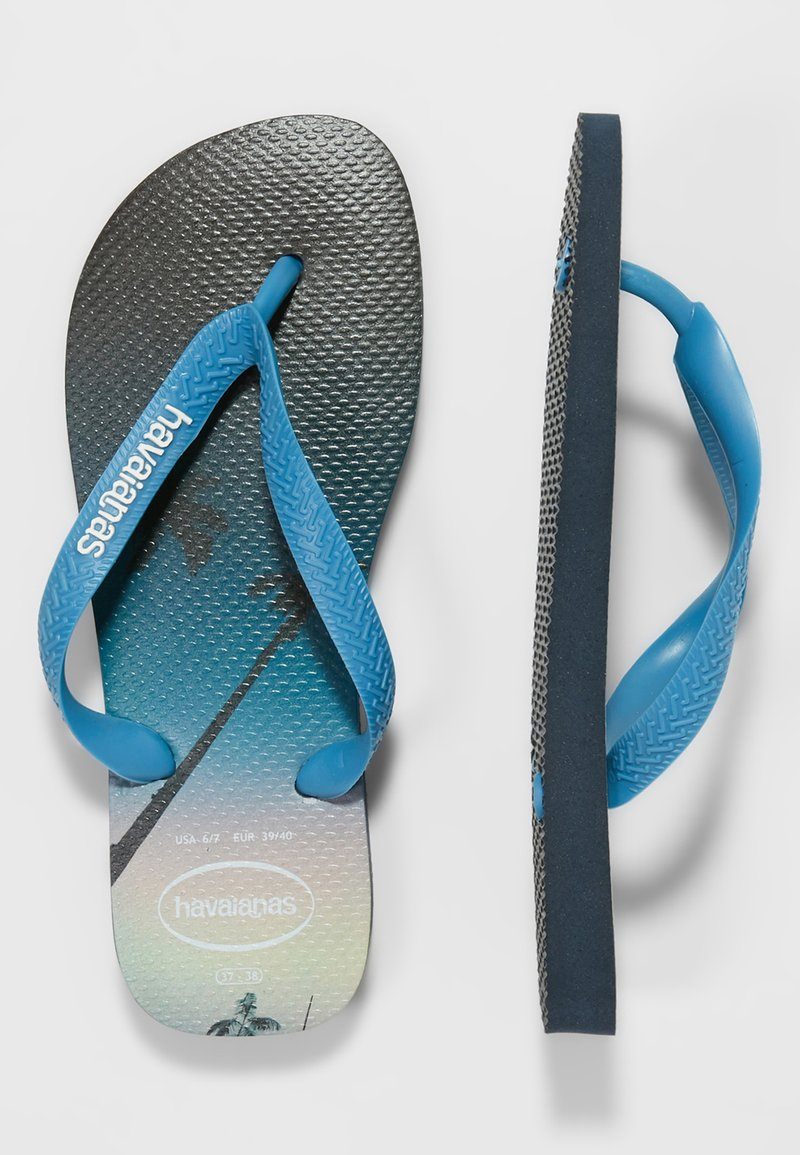Havaianas - HYPE - Teenslippers - navy blue/blue star/white