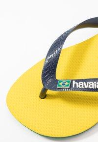 Havaianas - BRASIL LAYERS - Boty do bazénu - citrus yellow - 5