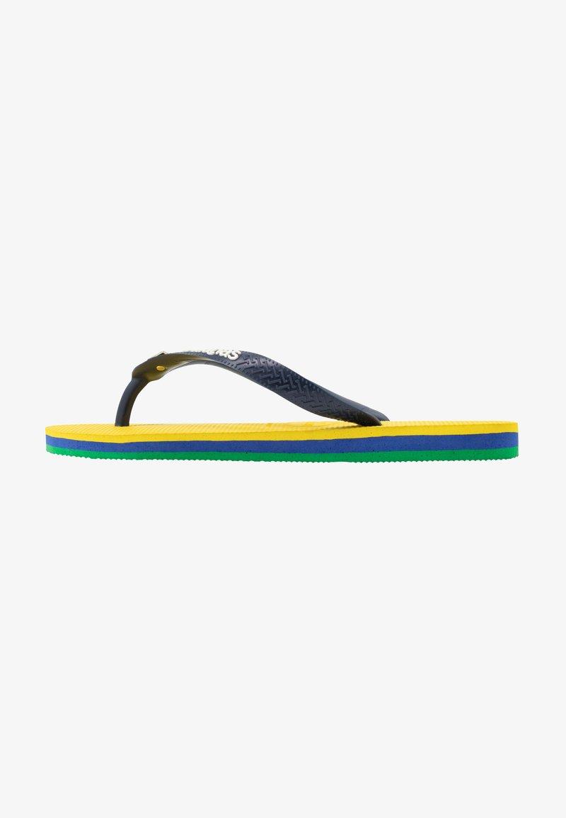 Havaianas - BRASIL LAYERS - Klipklappere/ klip klapper - citrus yellow