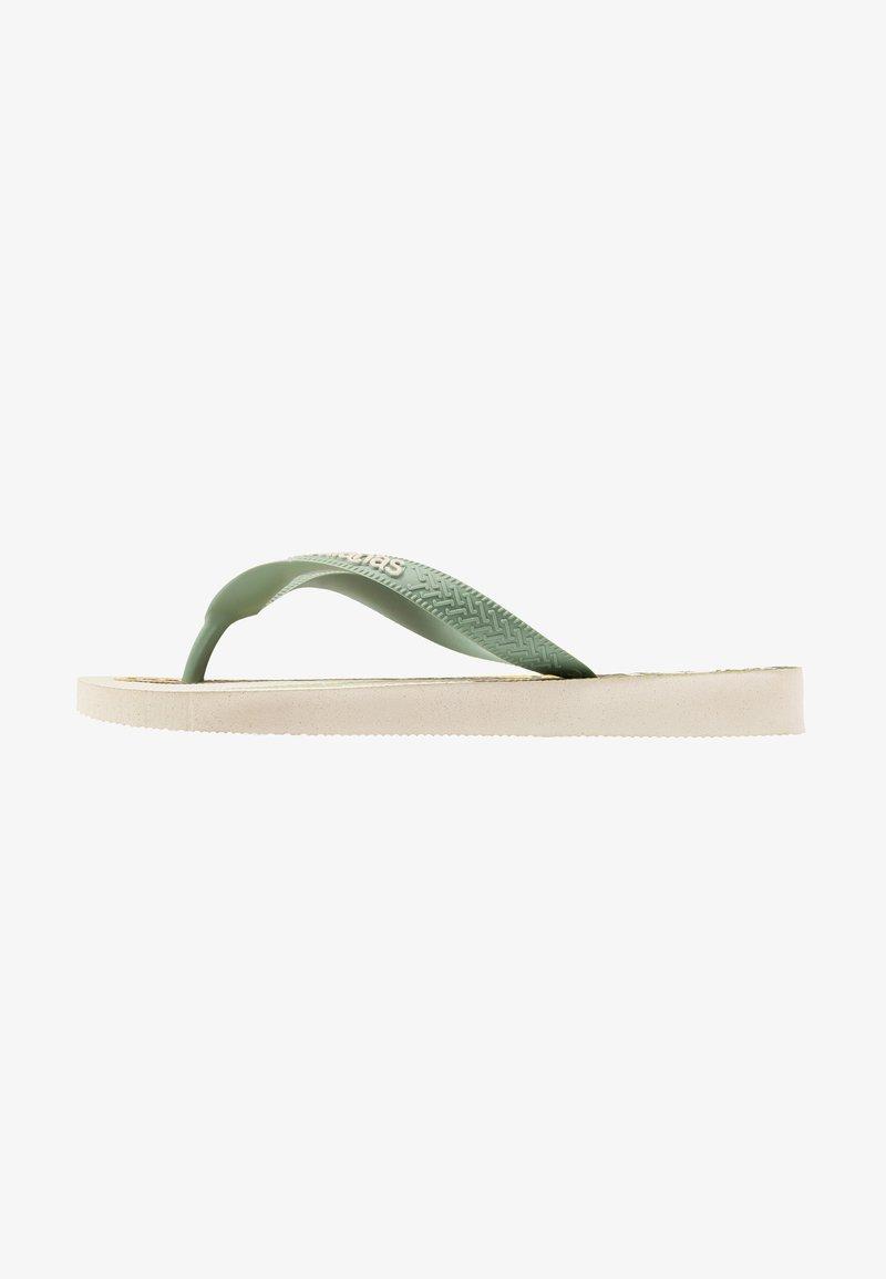 Havaianas - IPE - Chanclas de dedo - beige/mineral green
