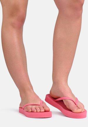 SLIM - Sandaler m/ tåsplit - light pink