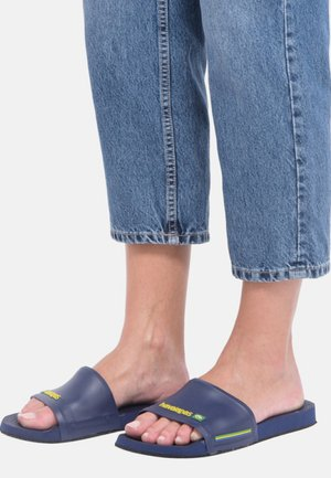 SLIDE BRASIL - Chanclas de baño - navy blue
