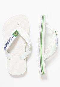 Havaianas - BRASIL LOGO - Infradito da bagno - white - 0