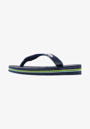 BRASIL LOGO - Badsandaler - navy blue