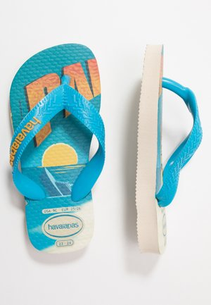 MINIONS - Pool shoes - beige/turquoise