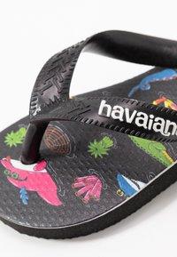 Havaianas - TOP MULGA - Klipklappere/ klip klapper - black - 2