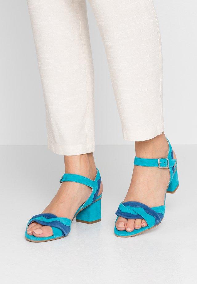 TILLY - Sandals - aqua