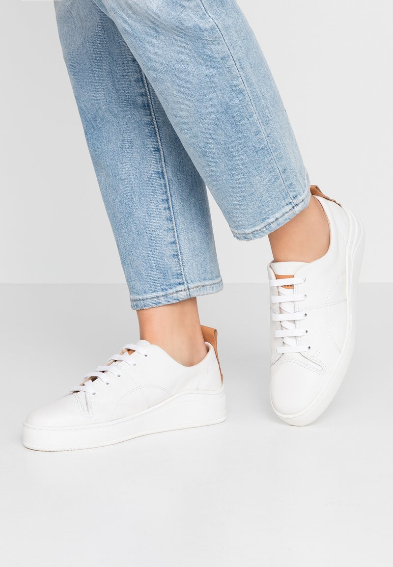 H by Hudson - SIERRA - Sneaker low - tumbled white