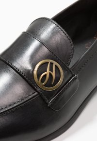 H by Hudson - CHIPPING - Scarpe senza lacci - black - 5