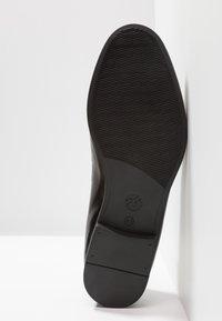 H by Hudson - CHIPPING - Scarpe senza lacci - black - 4
