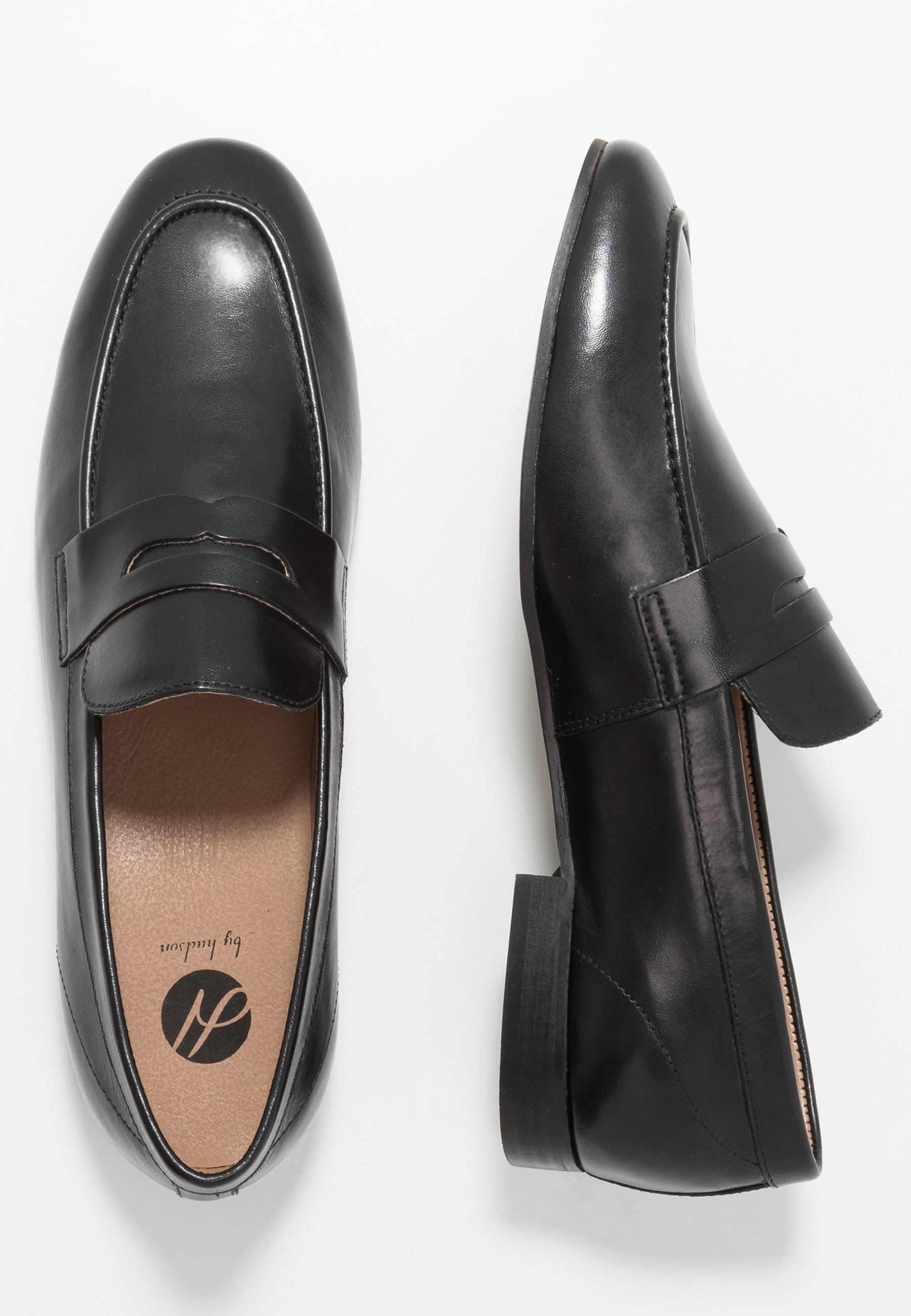 H By Hudson Bolton Saddle - Slip-ins Black
