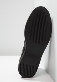 H by Hudson - BATTLE - Šněrovací kotníkové boty - black - 4