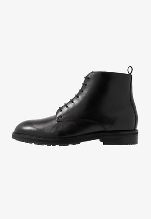 ROWAN TANKER - Bottines à lacets - black