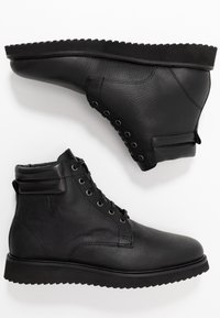 H by Hudson - XEROX CUFF BOOT - Bottines à lacets - black - 1