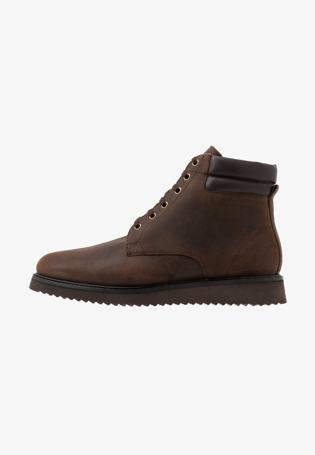XEROX CUFF BOOT - Lace-up ankle boots - brown