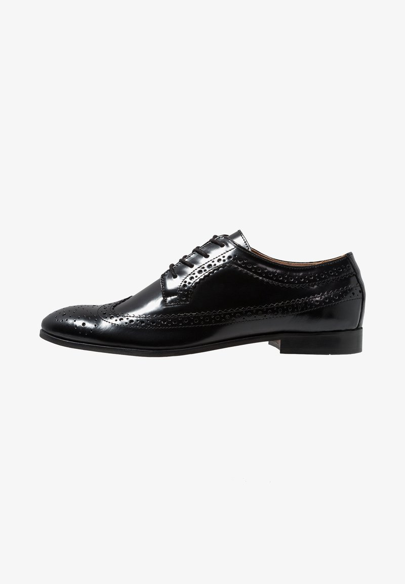 H by Hudson - CROWTHORNE - Smart lace-ups - black