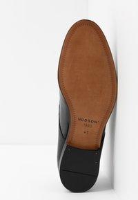 H by Hudson - CRAIGAVON STAMP - Business sko - black - 4