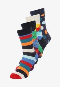 Happy Socks - 4 PACK  - Sokken - navy - 0