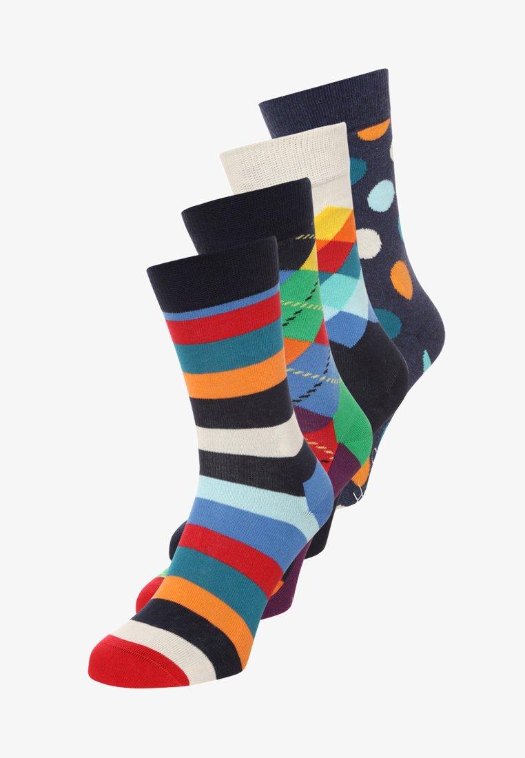 Happy Socks - 4 PACK  - Calze - navy