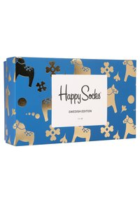 Happy Socks - SWEDISH EDITION GIFT BOX 3 PACK - Calcetines - blue - 3