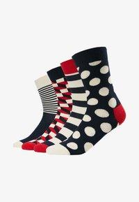 Happy Socks - DOT GIFT BOX 4 PACK - Sokken - navy - 1