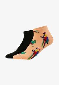 Happy Socks - PARROT LOW 2 PACK - Ponožky - orange - 1