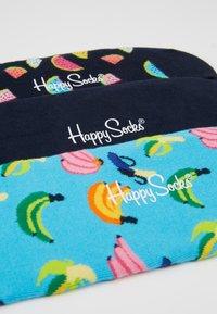 Happy Socks - BANANA LINER SOCK 3 PACK - Enkelsokken - multi - 2