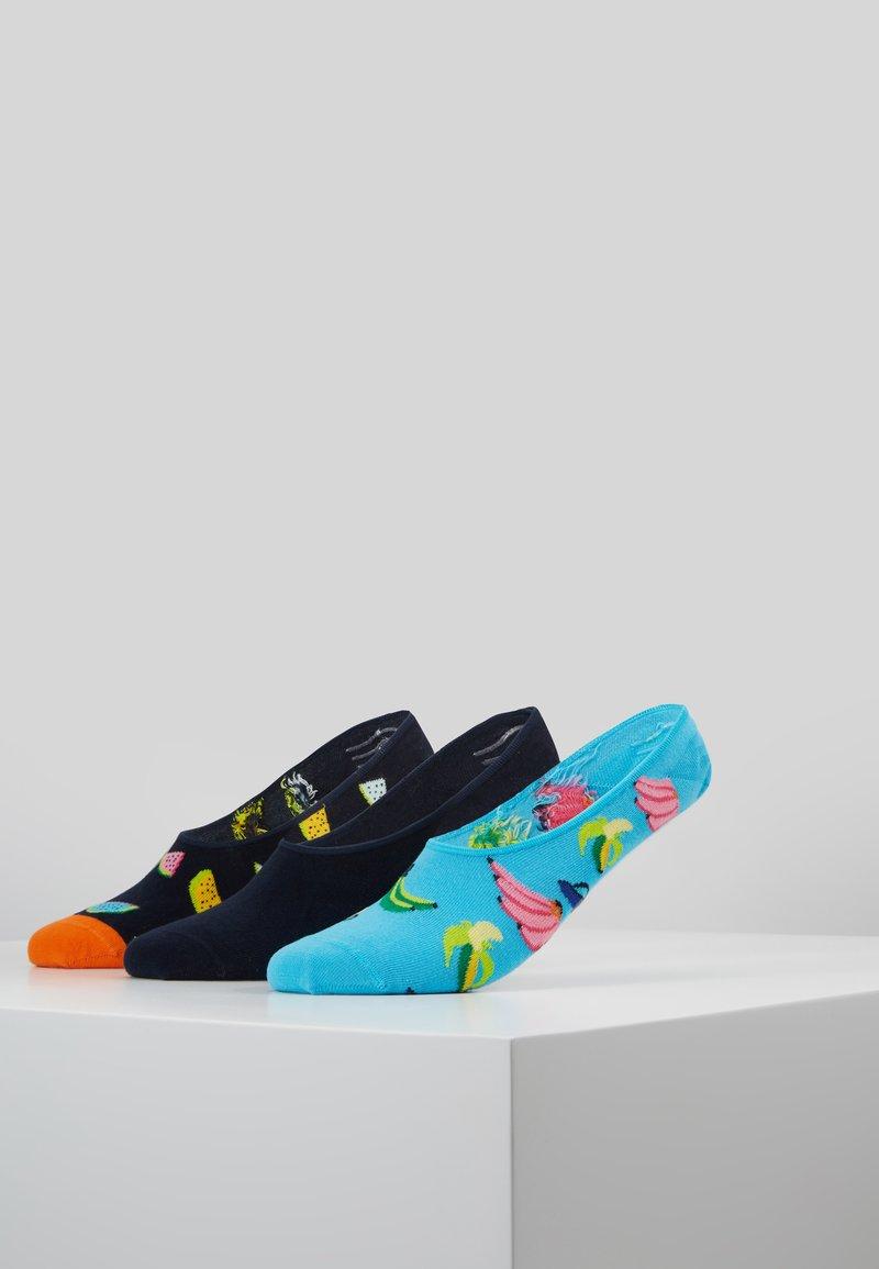 Happy Socks - BANANA LINER SOCK 3 PACK - Enkelsokken - multi