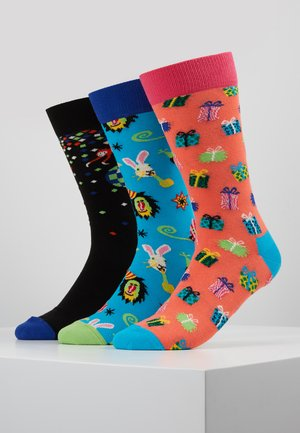 HAPPY BIRTHDAY GIFT BOX 3 PACK - Calcetines - multi-coloured