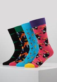 Happy Socks - ANIMAL GIFT BOX 4 PACK - Sokken - multi-coloured - 0