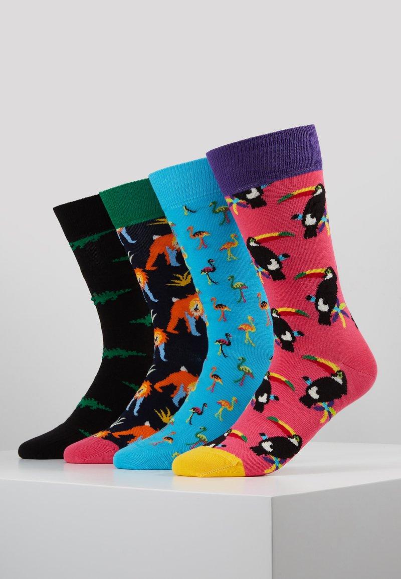 Happy Socks - ANIMAL GIFT BOX 4 PACK - Sokken - multi-coloured