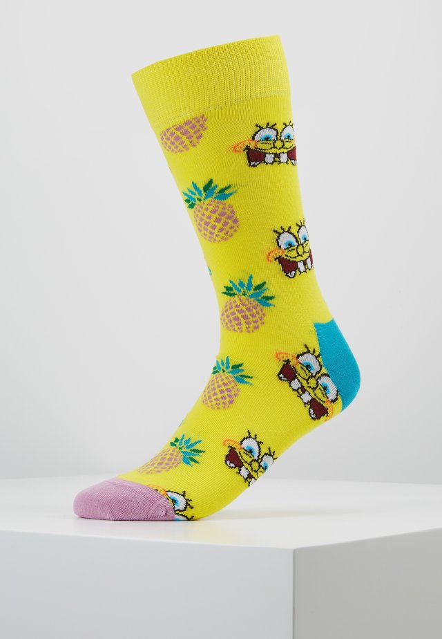 SPONGE BOB FINEAPPLE SURPRISE SOCK - Strømper - multi